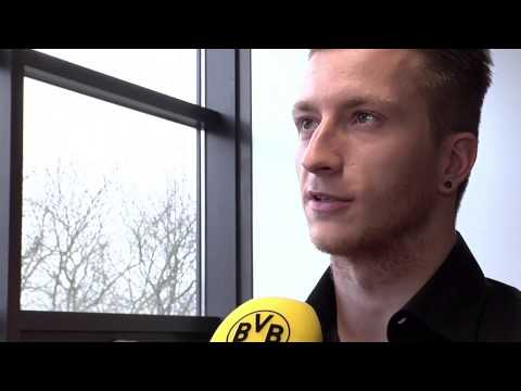 Marco Reus on signing a new contract at Borussia Dortmund -