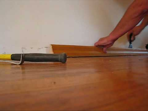 DIY 107 - Refinishing wood floors - prep - part 1 of 3