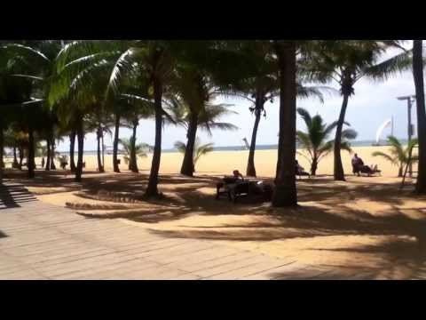 Jetwing Beach Hotel, Negombo Sri Lanka (ipod) Jan. 2014 video