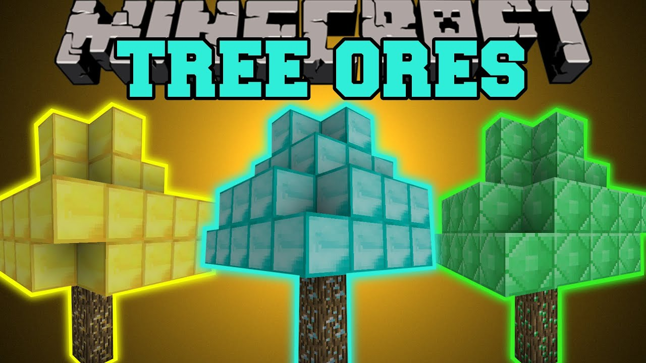 Minecraft Tree Ores Diamond