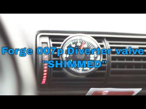 forge 007p diverter valve Audi B5 A4 1.8t