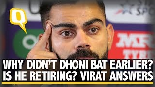 Virat Kohli on India's Semi-final Loss to New Zealand in WC Semi-Final | The Quint