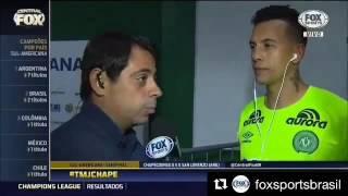 Fox Sport ( Narração do Último jogo de Danilo na Sul Americana )