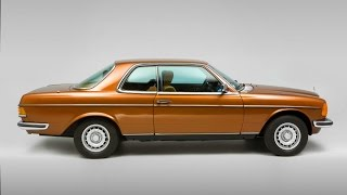 Mercedes-Benz C 123. Coupe based on w123.