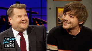 Louis Tomlinson Calls James Corden Out