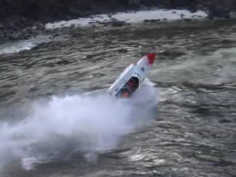 Boat barrel rolls during race... (part 1)