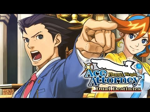 Phoenix Wright: Ace Attorney - Dual Destinies Trailer