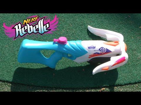 Nerf Rebelle Super Soaker Tri Threat from Hasbro