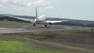 air transport international at cibao international air port .