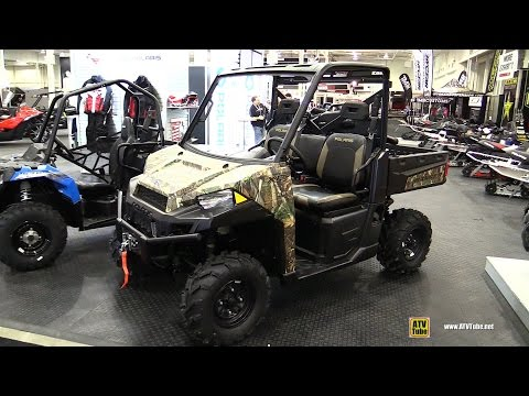 2015 Polaris Ranger XP 900 Camo Utility ATV - Walkaround - 2014 Toronto Snowmobile & ATV Show