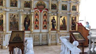 Богородицерождественский храм села Тарычево. Прямая трансляция Богослужения.