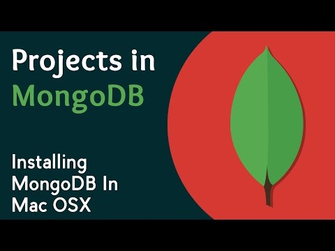 Learn Installing of MongoDB In Mac OSX | MongoDB Tutorials | Projects in MongoDB | Eduonix