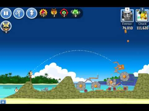 Angry Birds Friends - Level 5 - Week 110 High Score 131K - No Power Up - Summer Tournament