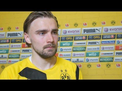 Interview: Marcel Schmelzer nach dem Heimsieg gegen Paderborn (3:0) | BVB total! Nachspielzeit