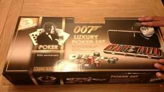 007 limited edition poker set