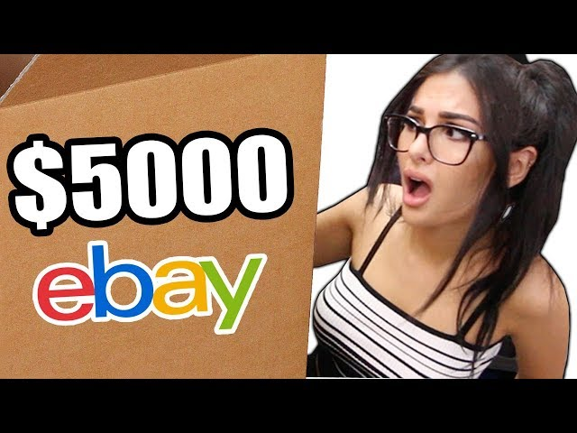 UNBOXING A 5000 MYSTERY BOX FROM EBAY