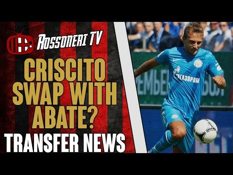 Criscito swap with Abate? | AC Milan Transfer News | (16/07/14)