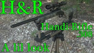 H&R HANDI-RIFLE .308 (lil look)