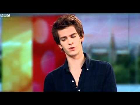 Andrew Garfield interview BBC News