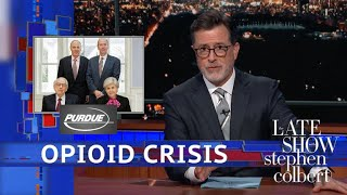 Colbert Links Big Pharma