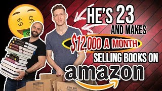 He's Making $12,000 a Month Selling Books on Amazon at 23-Years-Old