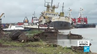 Revamping Cameroon: Authorities remove old ships that are rusting in the port
