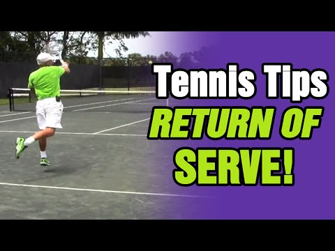 4 Return of Serve Tennis Tips by TomAveryTennis.com