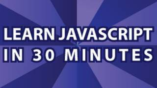 JavaScript Video Tutorial