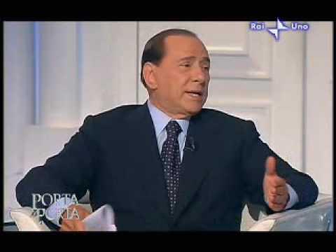 Porta a Porta: la festa horror di 18 anni di Barbara Berlusconi, Silvio e De Bortoli (part4)