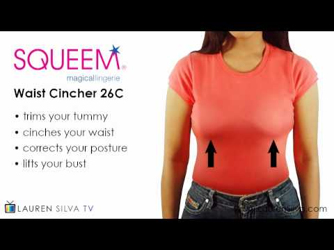 Squeem Shapewear Waist Cincher 26C: The Secret to an Instant Hourglass Shape