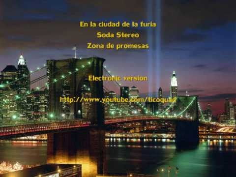 Soda Stereo - En La ciudad de la furia  (Version Unplugged)
