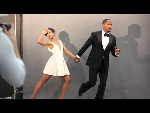 Behind-the-Scenes: Jamie Foxx Kerry Washington Photo Shoot