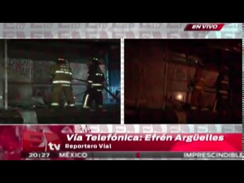 ¡ÚLTIMA HORA! Encapuchados incendian estación de Metrobús en CU / Excélsior Informa