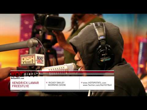 """Kendrick Lamar """"Ricky Smiley Show"""" Freestyle!"""