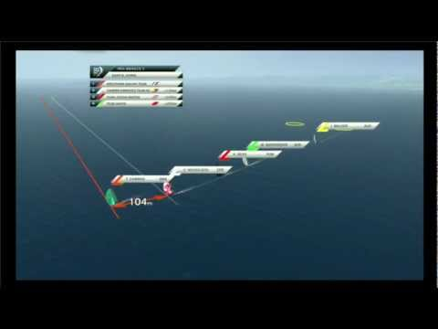 Volvo Ocean Race - Sanya Pro-Am Race 1 Virtual Eye Replay 2011-12