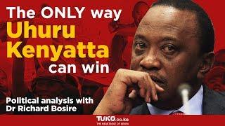 The only way Uhuru Kenyatta will win the elections - political analysis