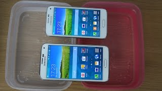 Samsung Galaxy S5 vs. Samsung Galaxy S5 Mini - Water Test (4K)