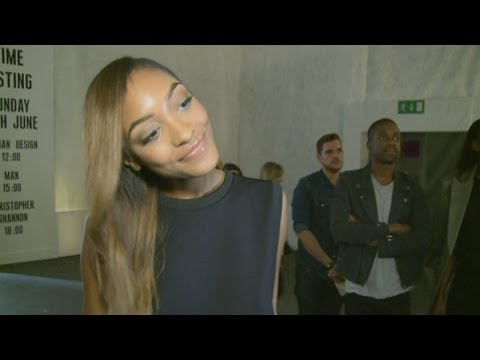 Supermodel Jourdan Dunn reveals her crush of the moment at Topman show