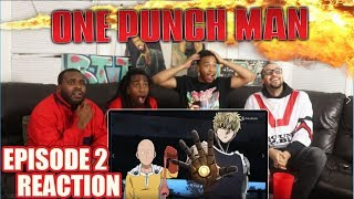 ONE PUNCH MAN EPISODE 2 REACTION/REVIEW THE LONE CYBORG!