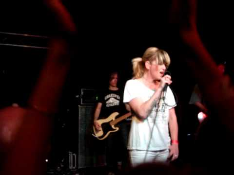 Letters to Cleo - I Want You To Want Me (Live)