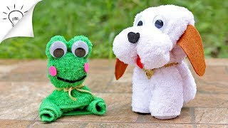 How to Make Towel Animals | Towel Folding