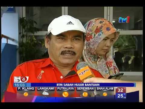 RTM SABAH HULUR BANTUAN [11 JULAI 2015]