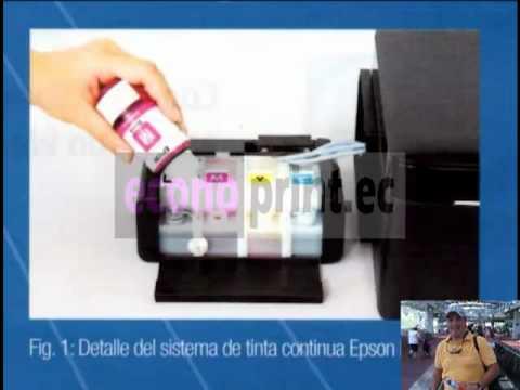 Epson L200 Sistema Continuo de Tinta Continua Original: Llegaron Parte 4/4