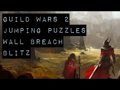 Guild Wars 2 Puzzle Achievements - Wall Breach Blitz