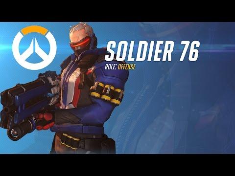 Overwatch's Soldier 76  - Lore & Abilities Hero Overview