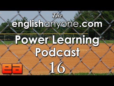 The Power Learning Podcast - 16 - The Sweet Spot Of English Language Learning + English Conversation video