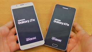 Samsung Galaxy J7 (2016) vs A7 (2016) - Speed Test! (4K)