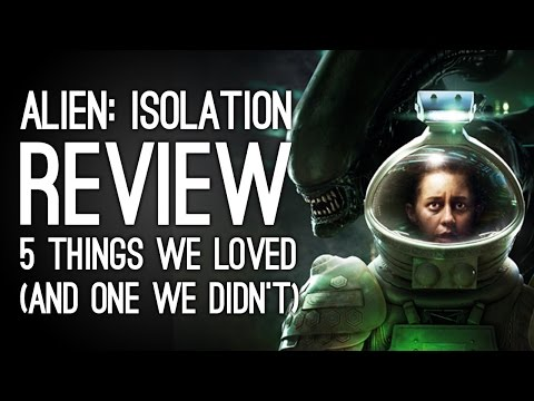 Alien Isolation Review: 5 Things We Loved and One Thing We Hated