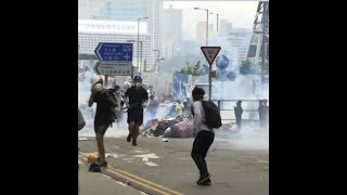 Biểu tình tiếp diễn ở Hong Kong (VOA)