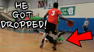 THEY ALMOST GOT IN A FIGHT!! 5 ON 5 REC BASKETBALL GAME #5/#6